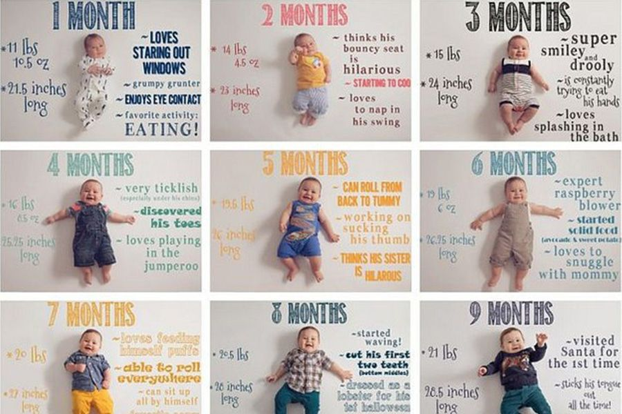 Baby-1-maand-oud-maandelijkse-foto