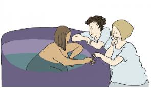 Bevallingshouding in bad