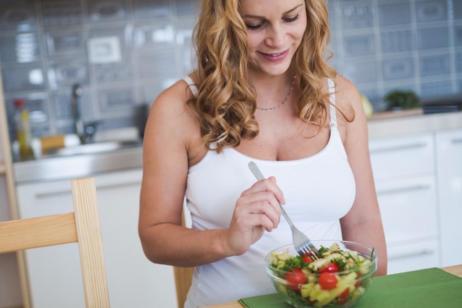 Zwanger en gezond eten bij overgewicht