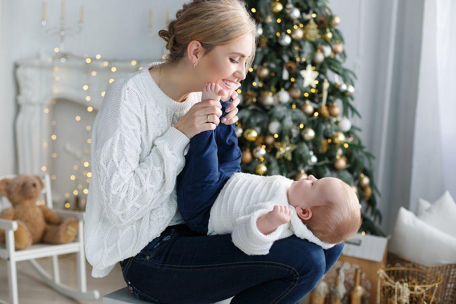 Babykleding Eerste Kerst.De Eerste Kerst Van Je Baby De Start Van Jullie Eigen Tradities