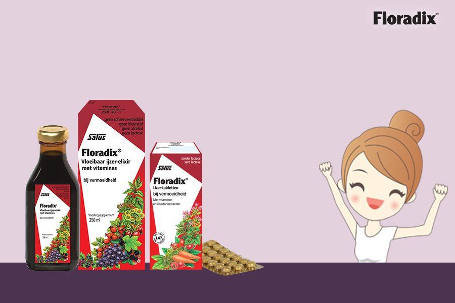 Floradix verpakkingen