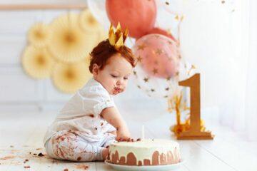eerste verjaardag van je baby
