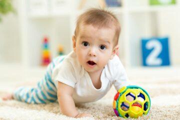 baby bij kinderdagopvang
