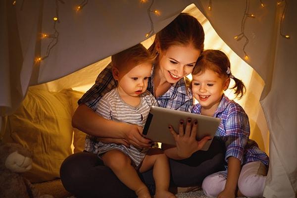 Baby 18 maanden oud digitale boekjes