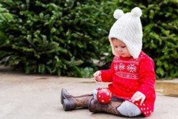 Chique Kersttrui.Kerstkleding Baby 5 Totaal Verschillende Stijlen 24baby Nl