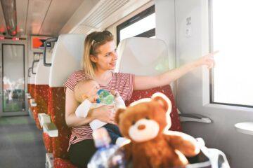 Baby mag gratis reizen met de trein