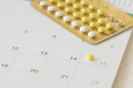 Anticonceptiepil met kalender