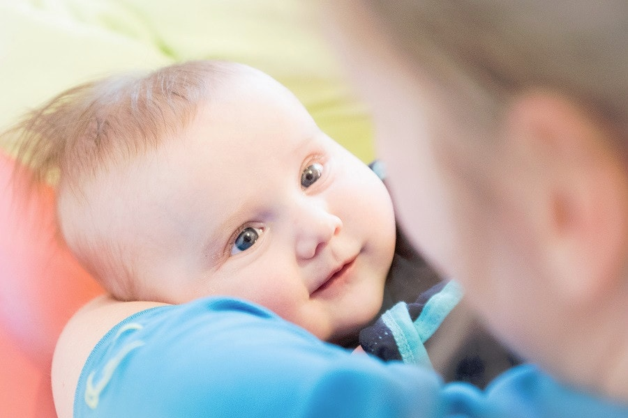 Baby start bij kinderdagverblijf