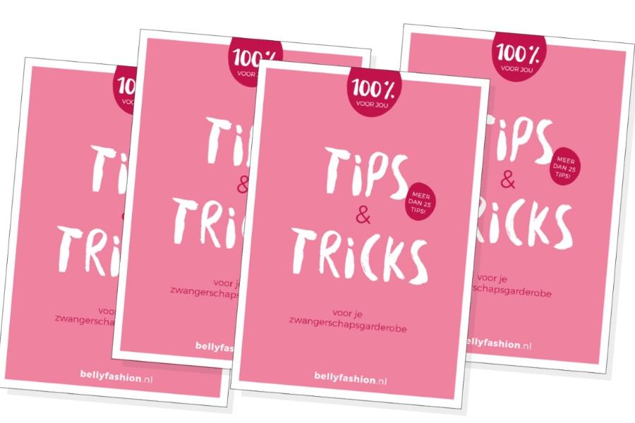 Boekje tips en tricks zwangerschapskleding Bellyfashion.nl