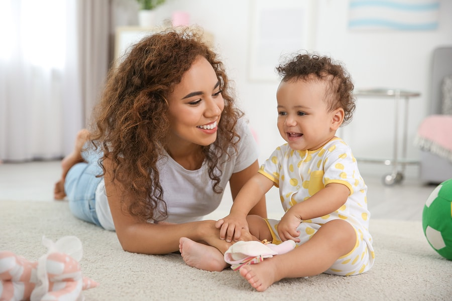 Kindgebonden budget moeder en baby