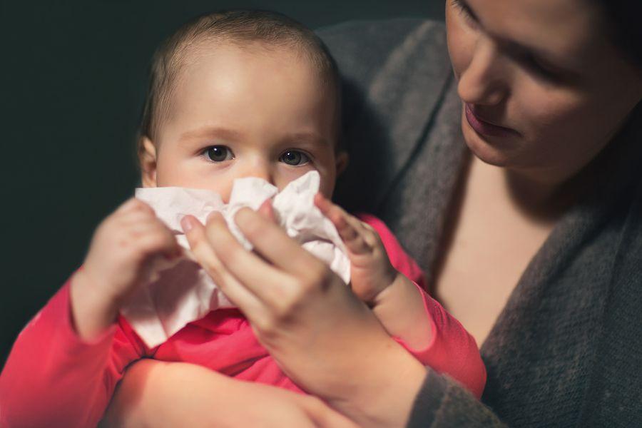 baby met de vijfde ziekte