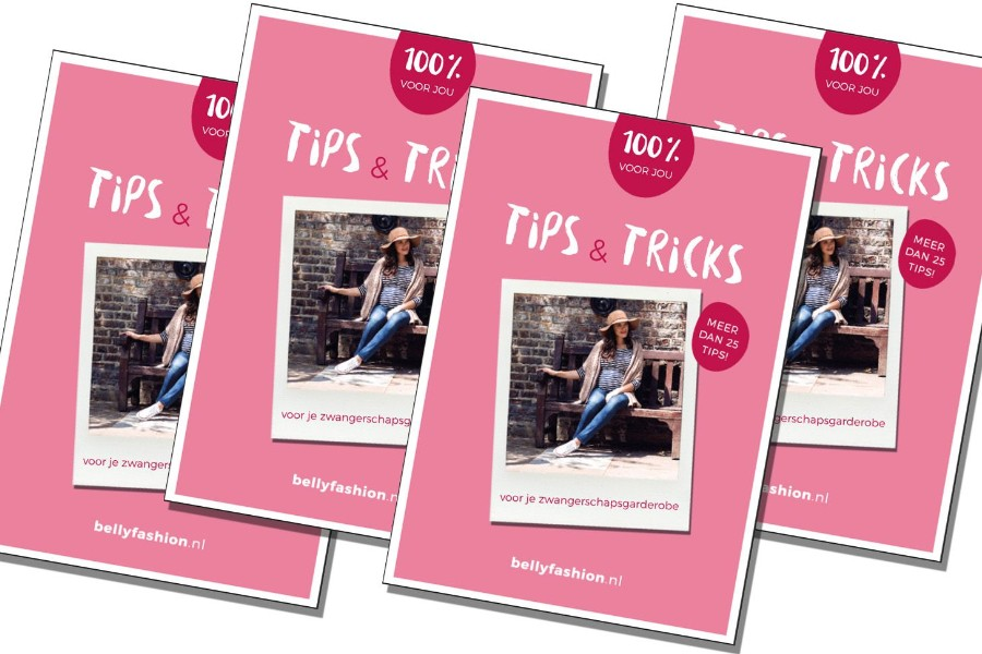 e-book tips en tricks zwangerschapskleding Bellyfashion
