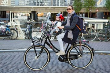 fietsstoeltje baby fietsen