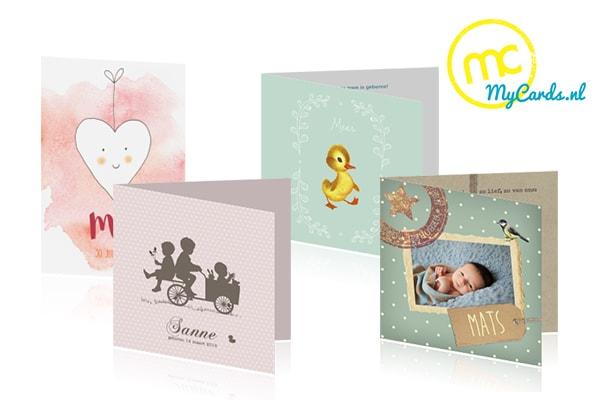mycards geboortekaartje