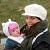 Blogger Marjolijn van Mourik met haar dochter Jasmijn