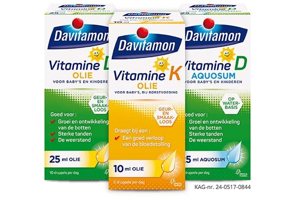 baby 6 weken oud vitamine D