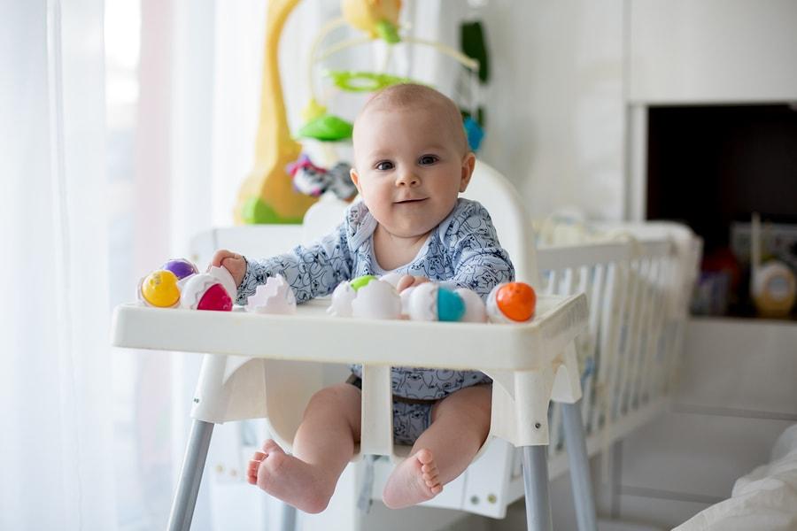 25 weken zwanger, kinderstoel