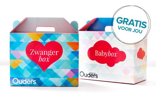 8 weken zwanger, Zwangerbox en_Babybox