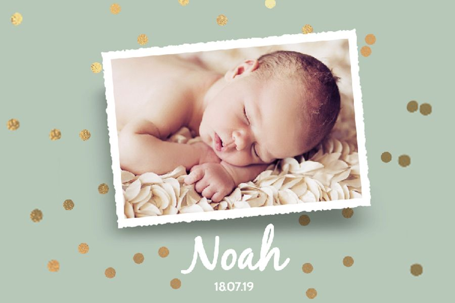 13 weken zwanger, geboortekaartjes