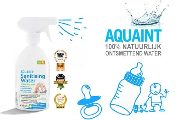 Baby 10 weken oud, aquaint ontsmetting