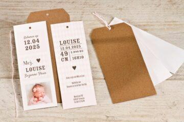 Geboortekaart ontwerpen