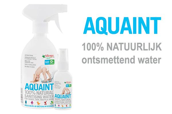 Baby 10 weken oud, aquaint ontsmetting huidje