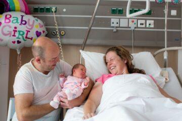 Partner goud waard tijdens bevalling