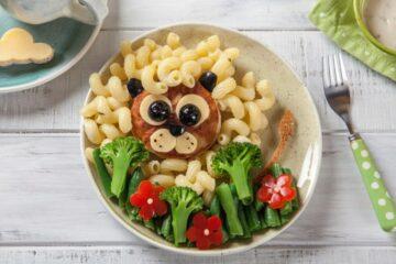 groenten voor peuter verstopt in food fun concept