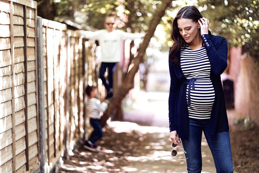 Zwangerschapskleding trends najaar