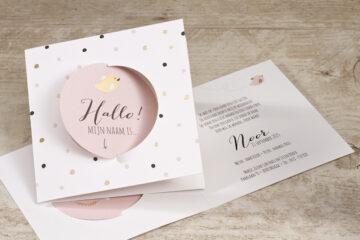 geboortekaartjes ontwerpen meisjes