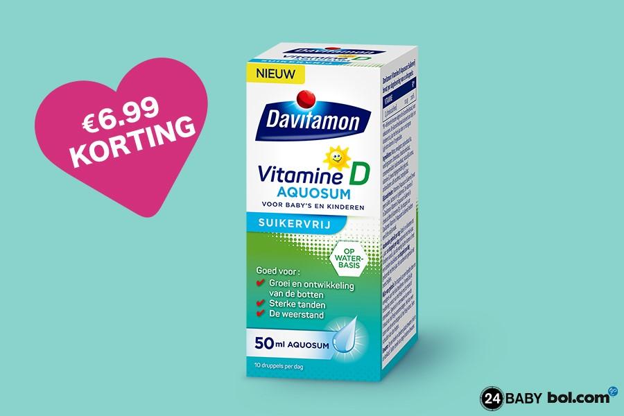 Davitamon Vitamine D Aquosum Suikervrij met korting