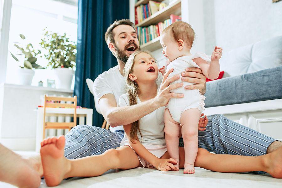 vader wil beleggen voor zijn kinderen