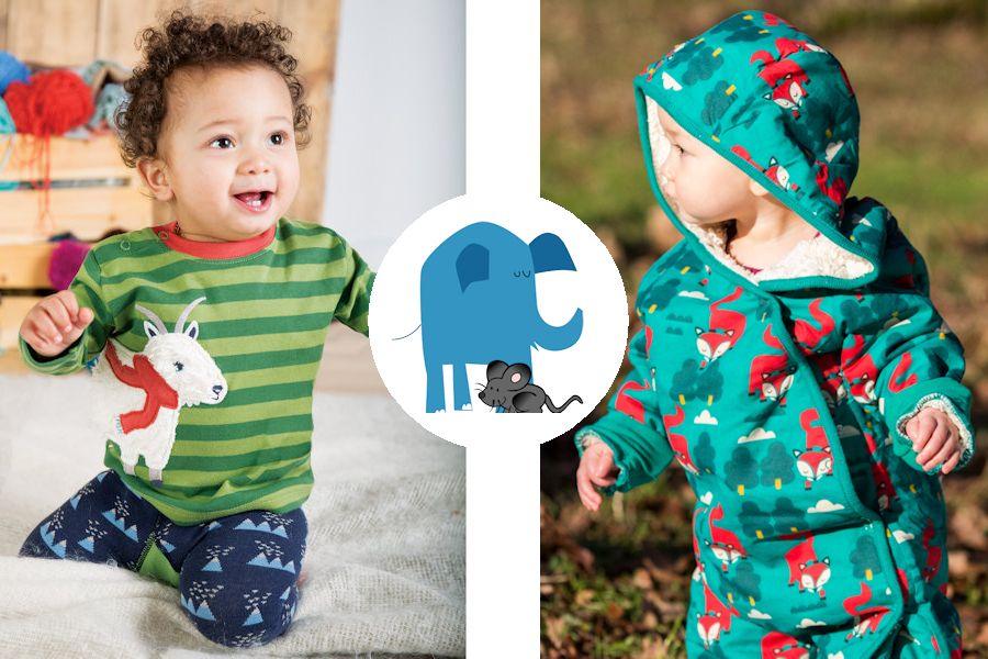 Babykleding Olifant en Muis