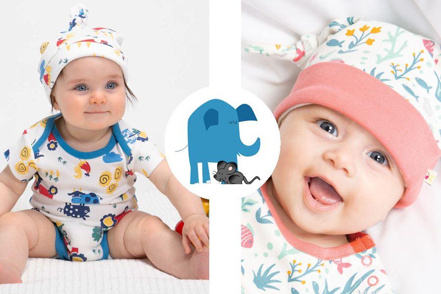 Olifant en Muis babykleding zomer