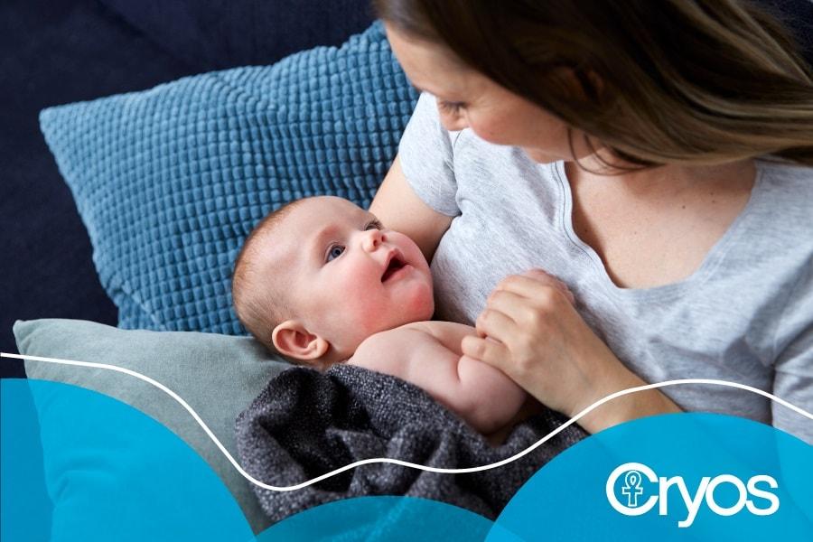 Cryos moeder en baby