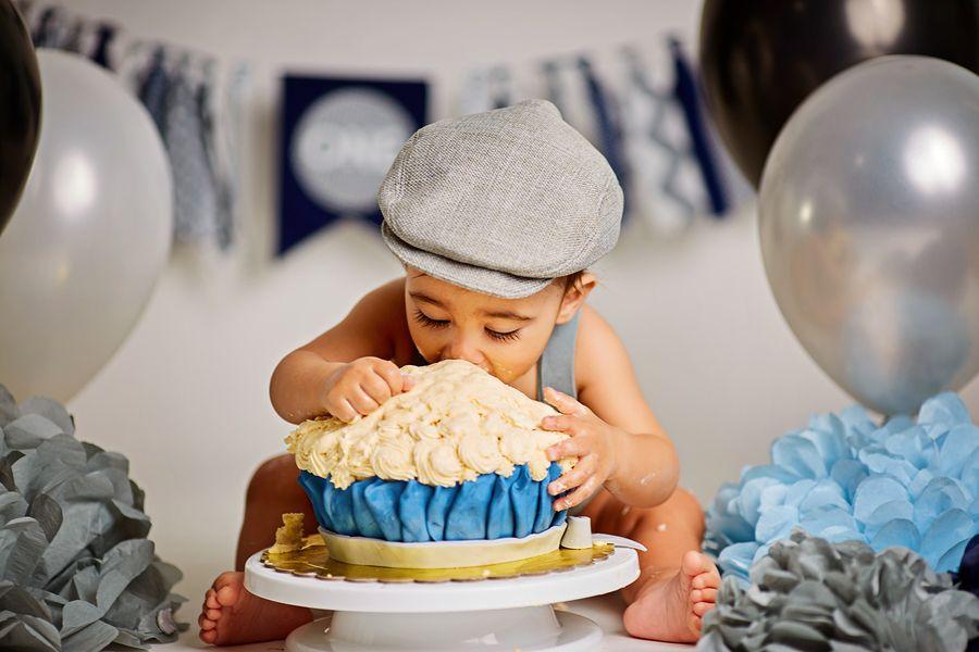 Verbazingwekkend Smash cake: een meptaart voor je baby's eerste verjaardag – 24Baby.nl SH-72