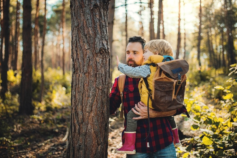 Vader doet speurtoch met kind van 3 jaar