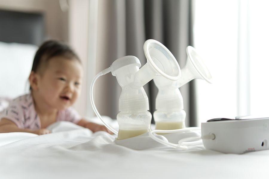 Een borstkolf voor borstvoeding