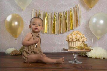 Smash cake Ilonka