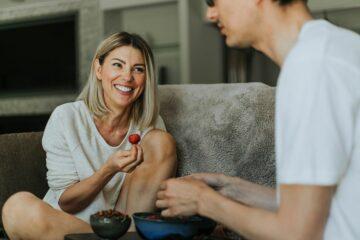 Zwangere vrouw omega 3-vetzuren