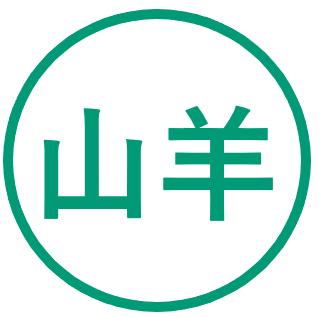 Teken voor het jaar van de Geit in de Chinese horoscoop