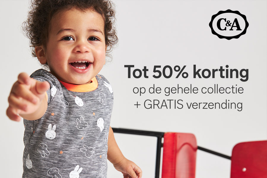 Korting gehele collectie C&A