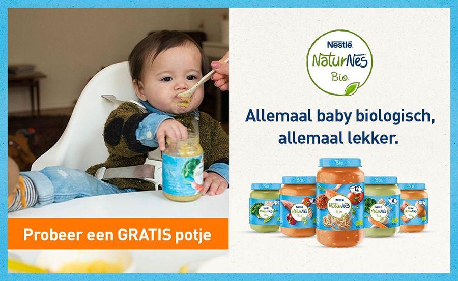 Aanbieding voor gratis NaturNes Bio van Nestlé